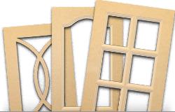 M.D.F Glass Doors